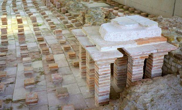 L'hypocauste romain