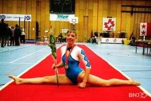 La championne suisse