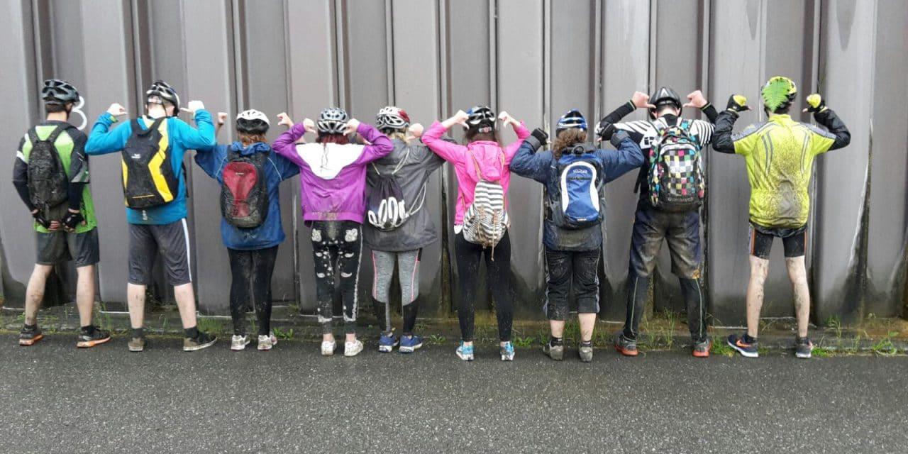 L'ESR au triathlon de Tramelan
