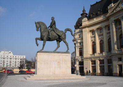 La Statue équestre de Carol I